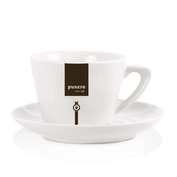 Klassisches punero Cafè Latte Set